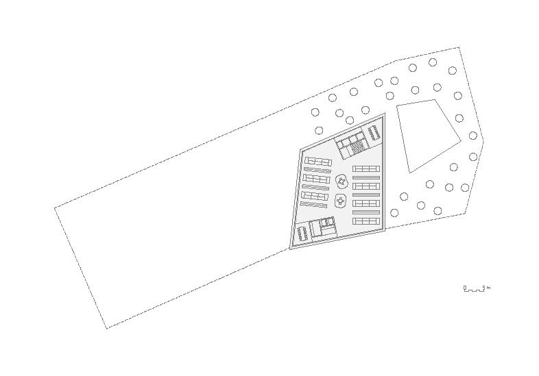 étages courants / bureaux / annexes